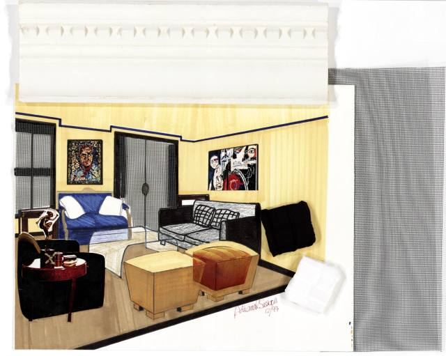 Interior design adriana sassoon for Room design 2d