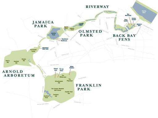Image result for emerald necklace conservancy