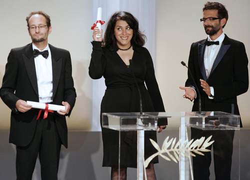 Marjane-Satrapi-Cannes