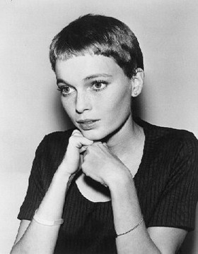 SUPER SHORT MIA FARROW