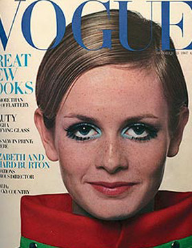 Twiggy by Ronald Traeger for Vogue
