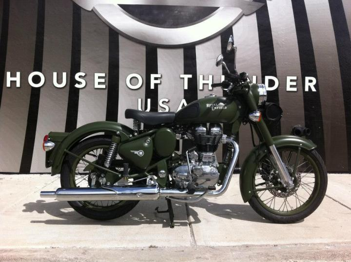 Royal Enfield C5 Classic Military