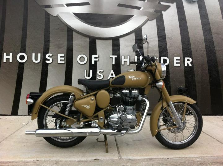 Royal Enfield C5 Military Sand