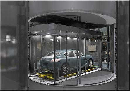 porsche design elevator